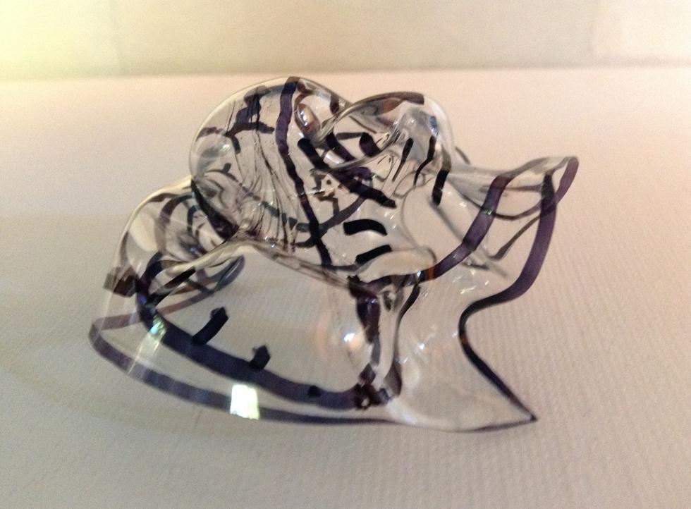 charlies glass sculpture